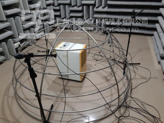 川岛牌DH-858D除湿机噪声测试分析报告