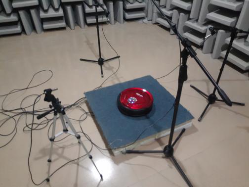 KV8 m-788扫地机器人的噪声测试分析报告