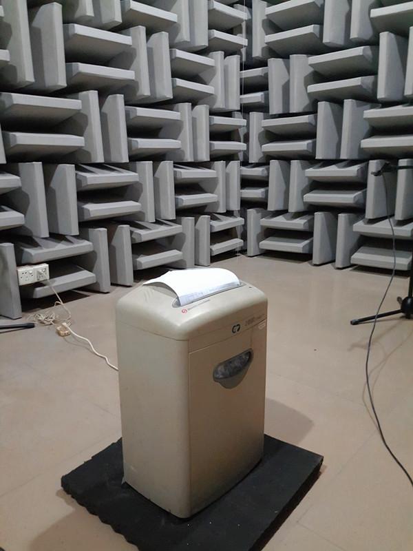 科密牌C-638碎纸机噪声测试分析报告