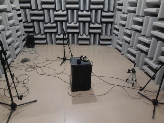 万得福研发电子冰箱样机在丹品半消声室内的噪声测试分析报告